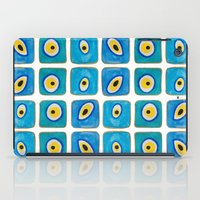 Evil Eye Squares iPad Case