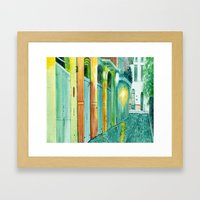 Pirate's Alley New Orleans Framed Art Print