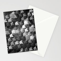 as the curtain falls (monochrome series) Stationery Cards