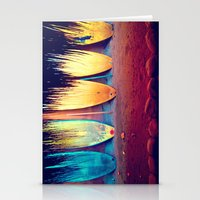 surf Stationery Cards featuring surf by Laura Ferro