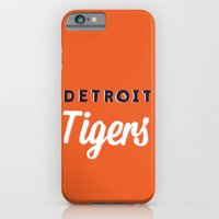 iPhone & iPod Case featuring Detroit Tigers by Erika Noel Design