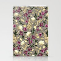 Flowers & Sea Shells Stationery Cards
