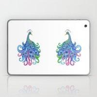Peaceful Peacock Laptop & iPad Skin