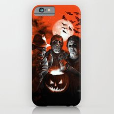 Freddy Krueger Jason Voorhees Michael Myers Super Villians Holiday iPhone 6 Slim Case