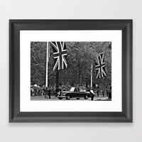 Wedding Day B&W Framed Art Print