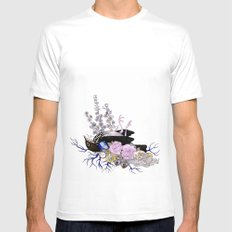Memento Mori Mens Fitted Tee SMALL White