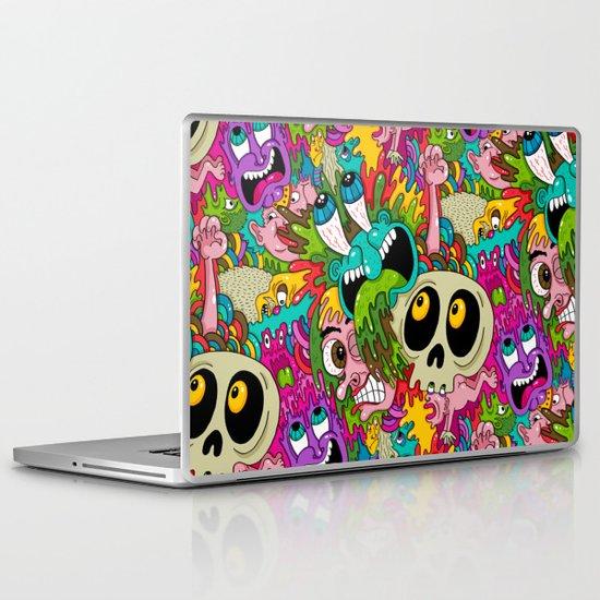 Puke Pattern Laptop & iPad Skin