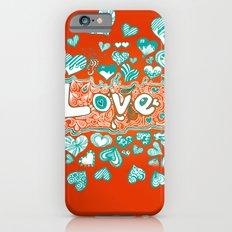 Love Doodle Slim Case iPhone 6s