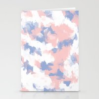 BLOSSOMS - ROSE QUARTZ /… Stationery Cards