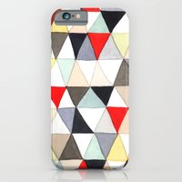 iPhone & iPod Case featuring Geometric Pattern Watercolor & Pencil Robayre by robyn wells
