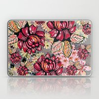 Roses and cherry blossom pattern Laptop & iPad Skin