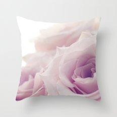 Pastel Pink Throw Pillow