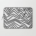 Graphic_Chevron freehand Laptop Sleeve