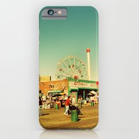 Coney Island luna park, New York iPhone 6 Slim Case