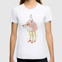 Foxy Womens Fitted Tee Ash Grey SMALL