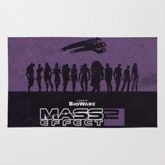 Mass Effect 2 Rug