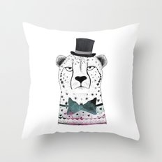 MR. CHEETAH Throw Pillow