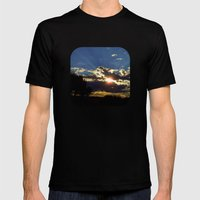 Radiance Mens Fitted Tee Black SMALL