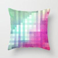 Pixel 3 Throw Pillow