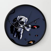 Interstellar Record Hunt Wall Clock
