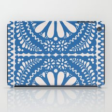 Fiesta de Flores Blue iPad Case