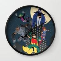 Teen Titans Wall Clock