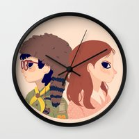 Sam And Suzy Wall Clock