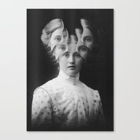 Clairvoyance / Extrasensorial (2015) Canvas Print