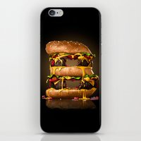 B for Burger iPhone & iPod Skin