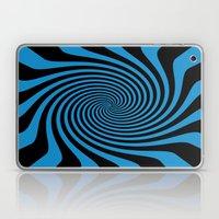Blue Swirl Pattern Laptop & iPad Skin