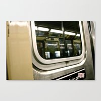 Subway Ride Canvas Print
