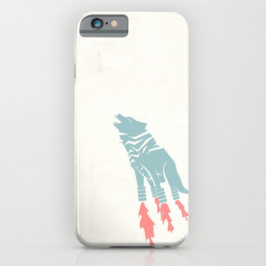 Robot Wolf-Tiger from Outer Space iPhone & iPod Case