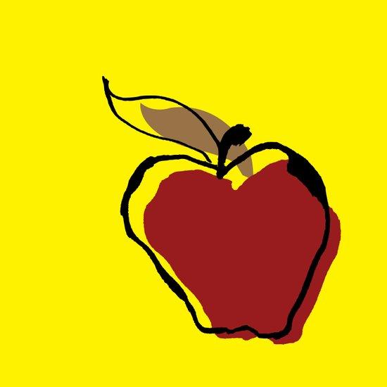 Apple for Teacher Art Print