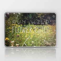 Run Wild, Flower Child Laptop & iPad Skin