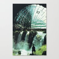SubCulture (imaginary Ci… Canvas Print