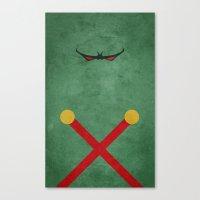 Martian Manhunter Canvas Print