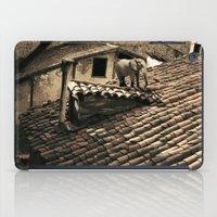 el elefante de mi vecina iPad Case