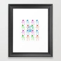 Waist Whine Turn Up - BD… Framed Art Print