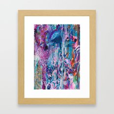 Disquiet Framed Art Print