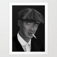 Thomas F'n Shelby - Peak… Art Print