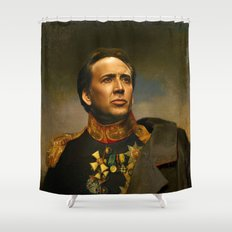 Nicolas Cage - replaceface Shower Curtain