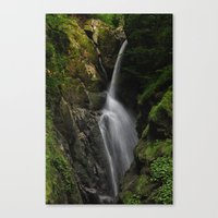 Aira Force Waterfall Canvas Print