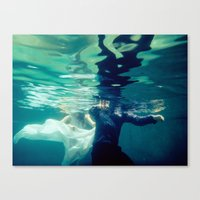 Chasing Love Canvas Print