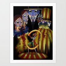 Circo di Bizarre Art Print