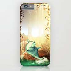 Funny Dolphin iPhone 6 Slim Case