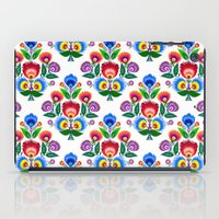 folk flowers ornament  iPad Case