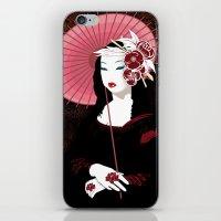 Mona Geisha Lisa iPhone & iPod Skin
