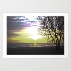 Sunset of Our Minds Art Print