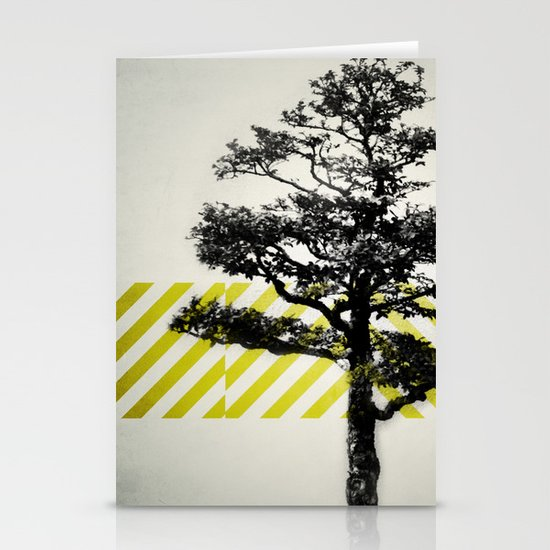 Ulmus parvifolia (Defying the Odds) Stationery Card