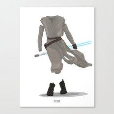 Rey - The Force Awakens Canvas Print
